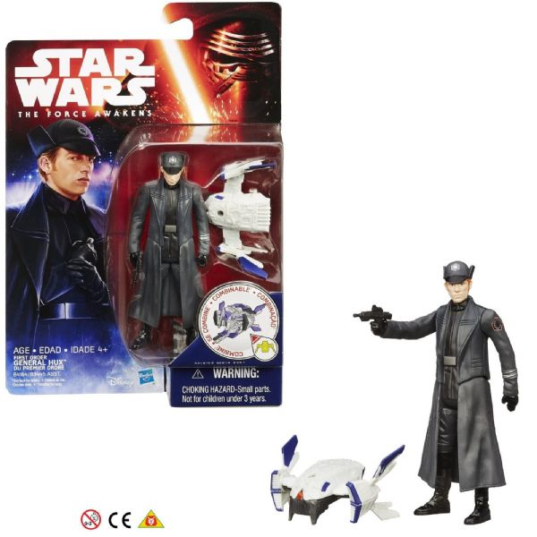 Star Wars The Force Awakens First order General Hux 3.75in Figure 4+ Years